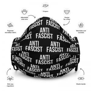 Anti-Fascist Premium Face Mask