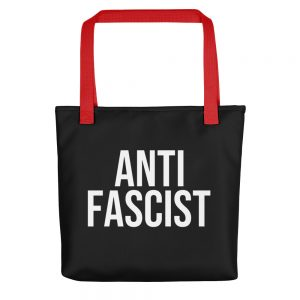 Anti-Fascist Tote Bag
