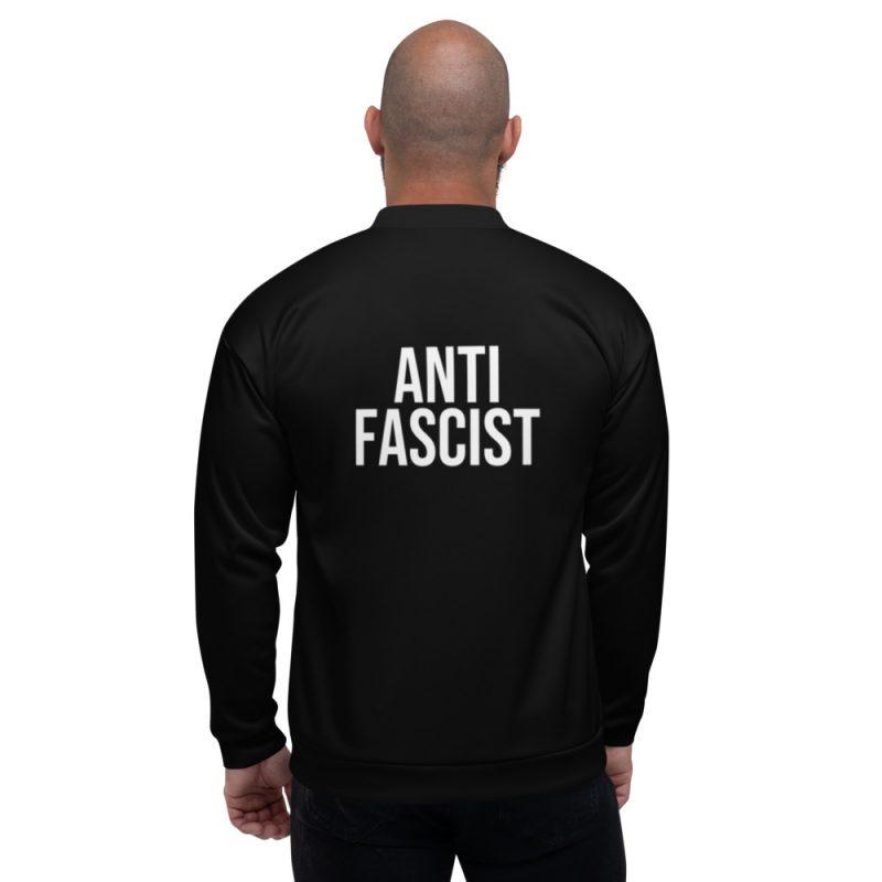 Anti-Fascist Unisex Bomber Jacket