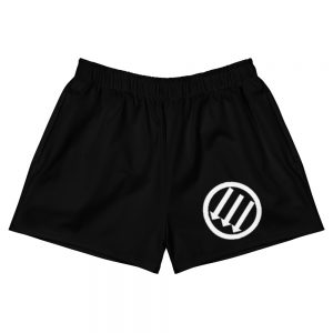 Antifa Iron Front 3 Arrows Black Women's Shorts