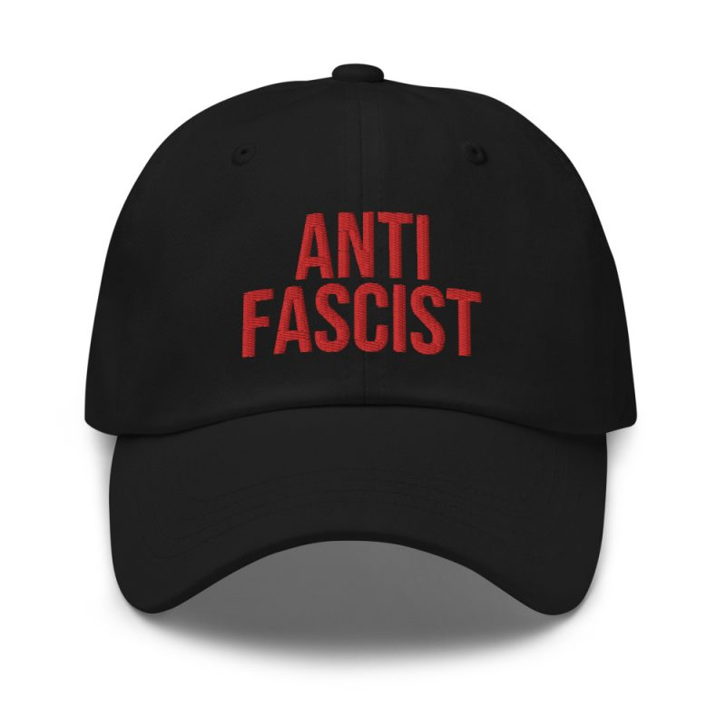 Anti-Fascist Red Dad Hat