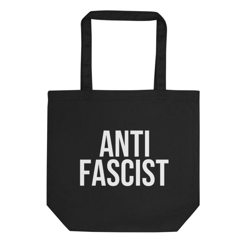 Anti-Fascist Organic Tote Bag