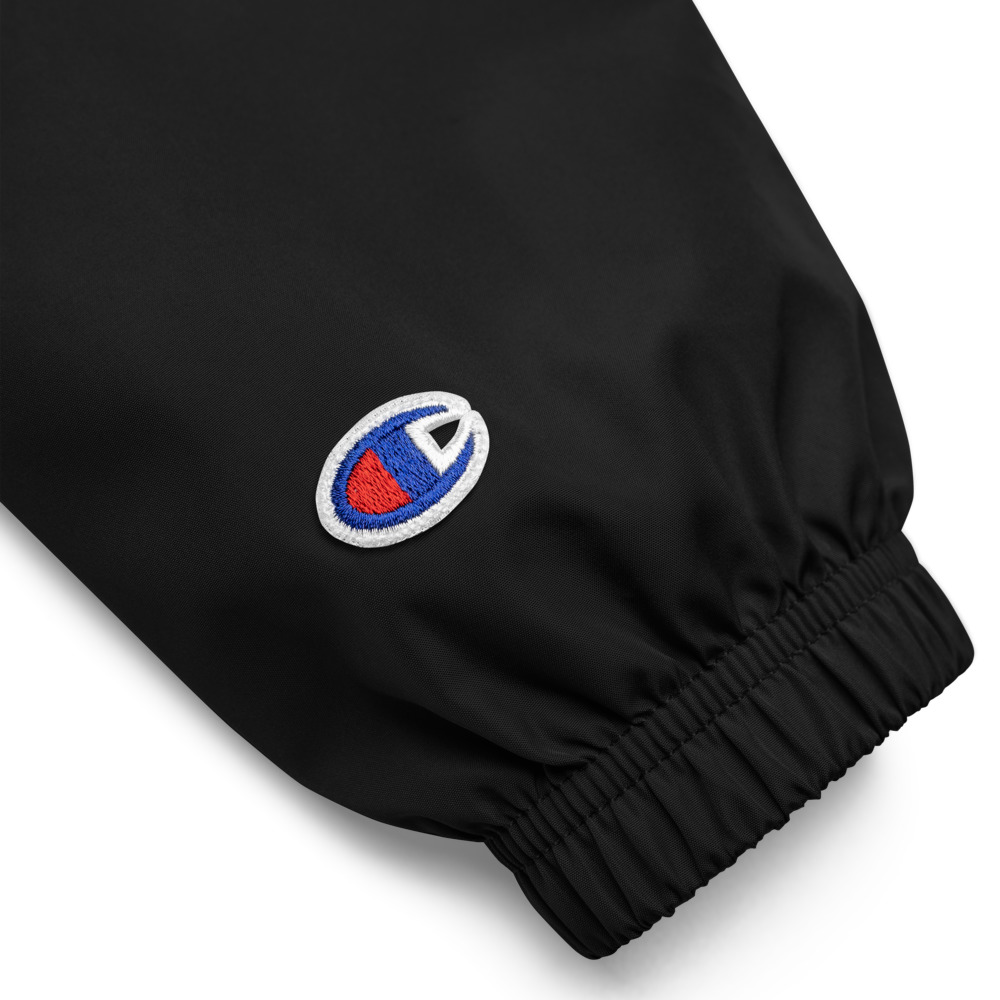 Anti-Fascist Embroidered Champion Packable Jacket