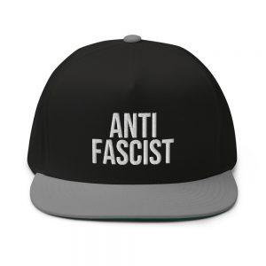 Anti-Fascist Flat Bill Cap