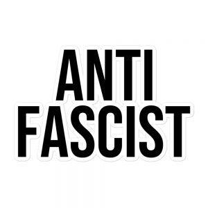 Anti-Fascist Bubble-free Stickers