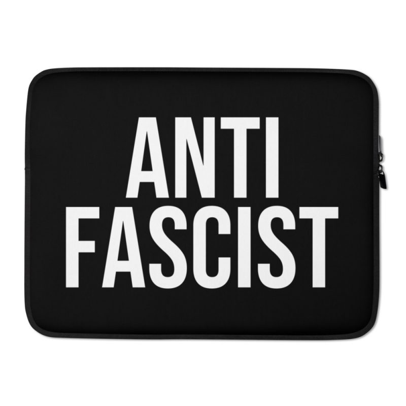 Anti-Fascist Laptop Sleeve
