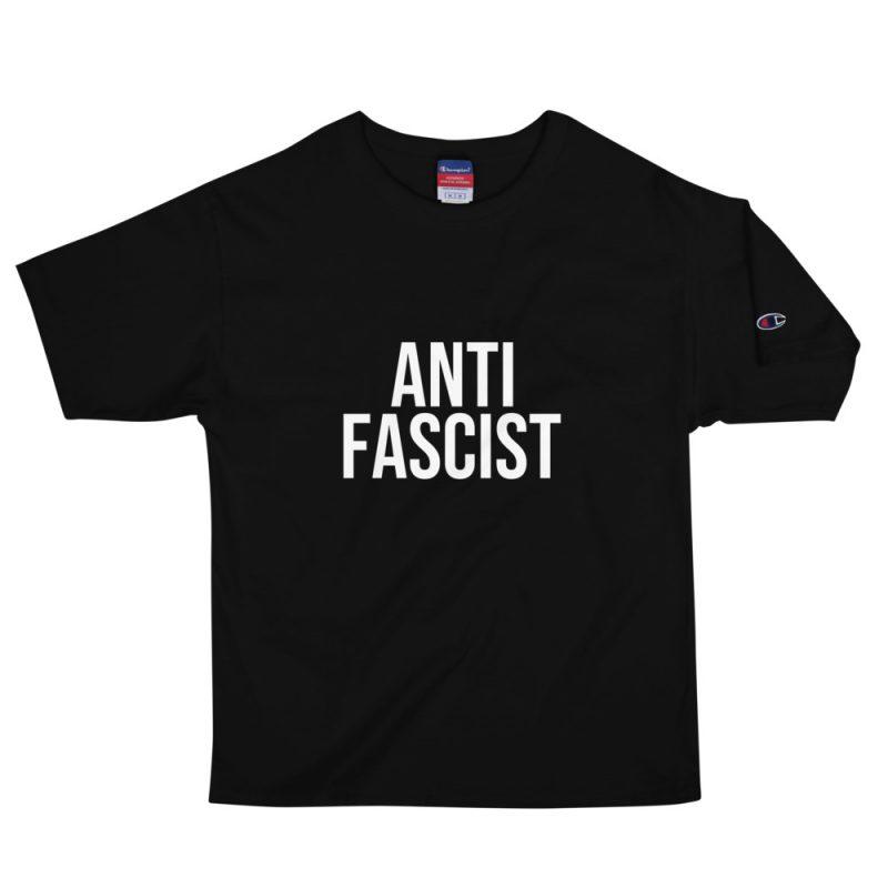 Anti-Fascist Men's Champion T-Shirt