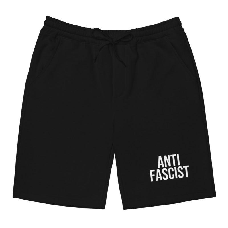Anti-Fascist Men's Fleece Shorts