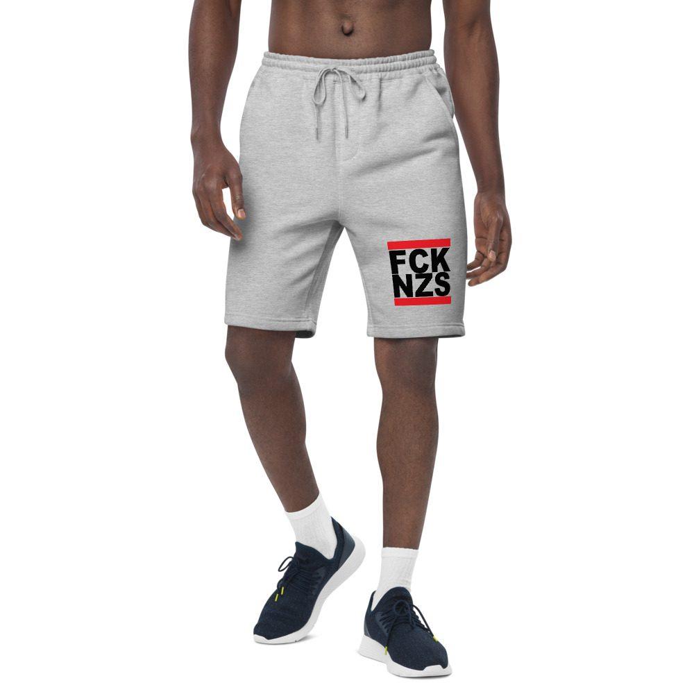 FCK NZS Black Men's Fleece Shorts