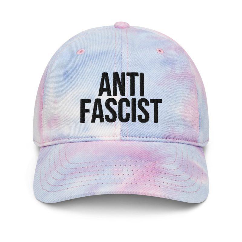 Anti-Fascist Tie Dye Hat