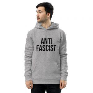 Anti-Fascist Unisex Essential Organic Hoodie