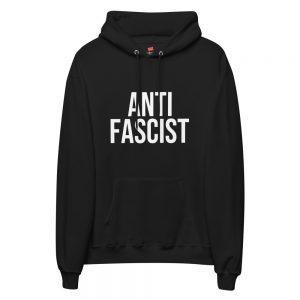 Anti-Fascist Unisex Fleece Hoodie