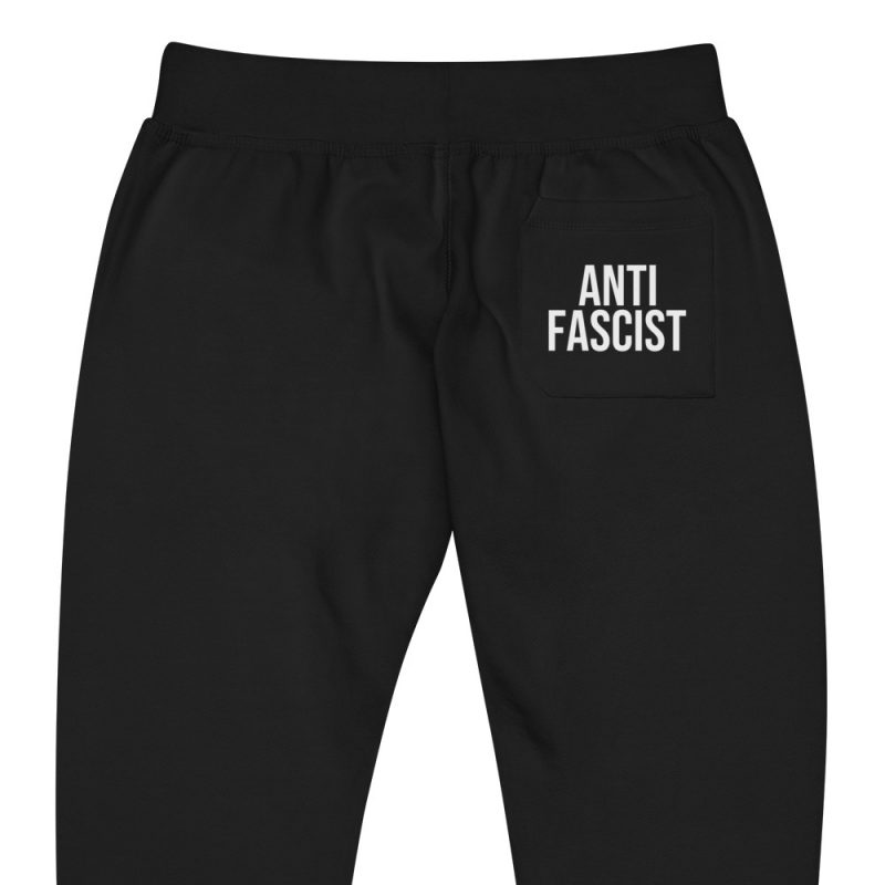 Anti-Fascist Unisex Fleece Joggers