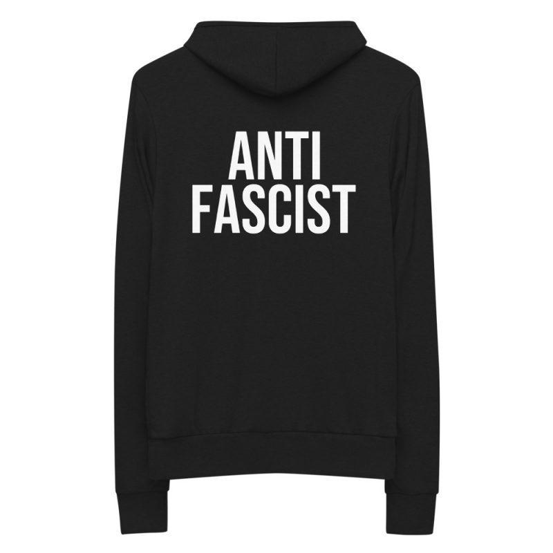 Anti-Fascist Unisex Zip Hoodie