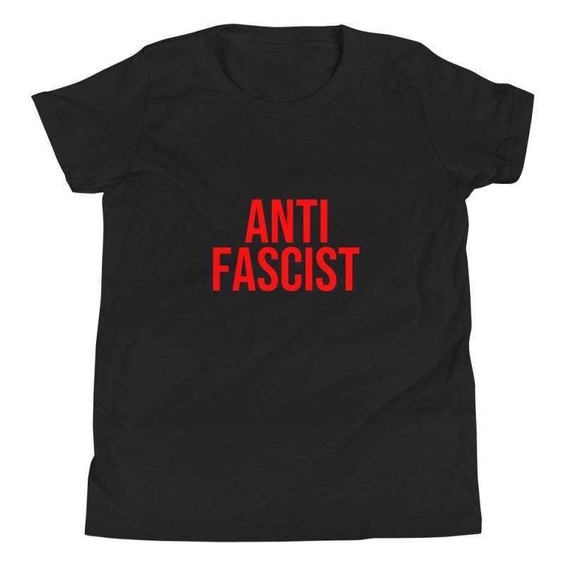 Anti-Fascist Red Kids T-Shirt