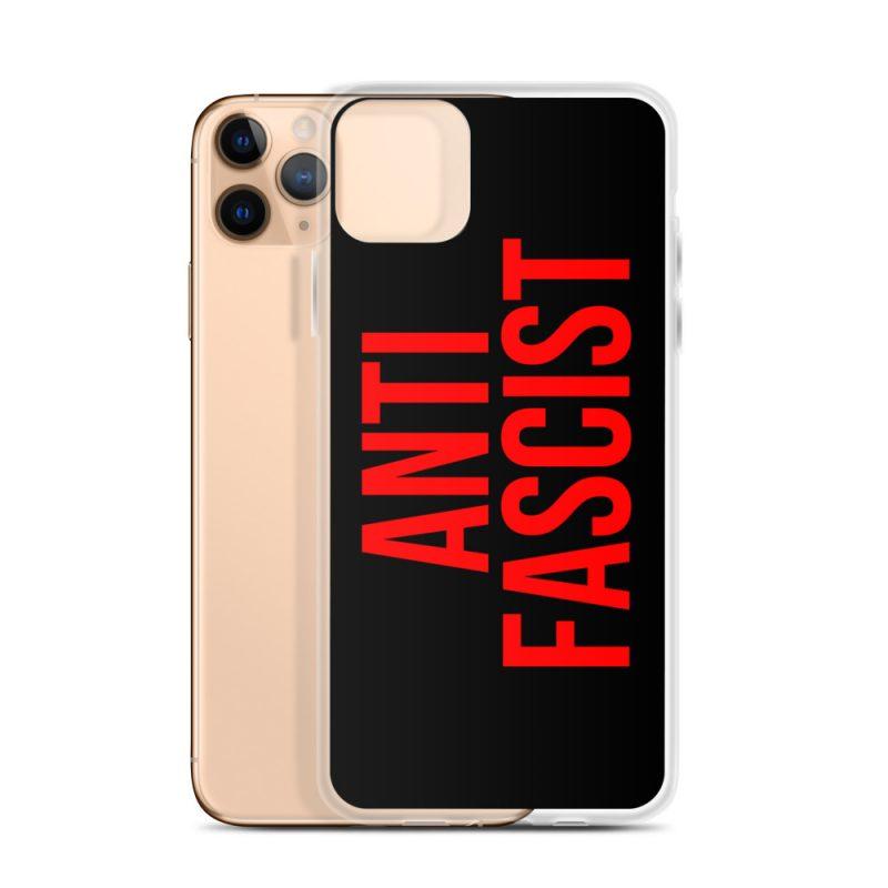 Anti-Fascist Red iPhone Case