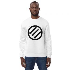 Antifa Iron Front 3 Arrows Unisex Organic Sweatshirt