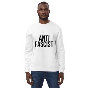 Anti-Fascist Unisex Organic Sweatshirt