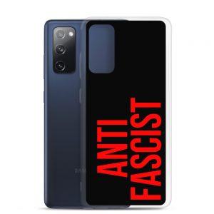 Anti-Fascist Red Samsung Case