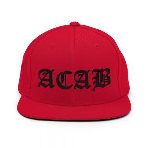 ACAB Snapback Hat
