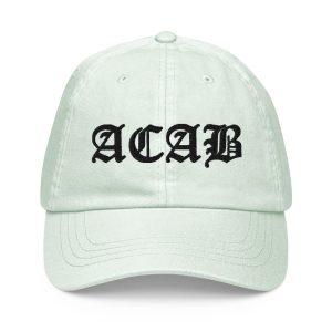 ACAB Pastel Baseball Hat