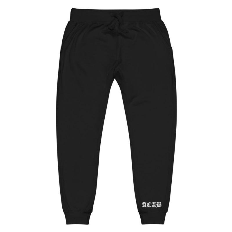 ACAB Unisex Fleece Sweatpants/Joggers